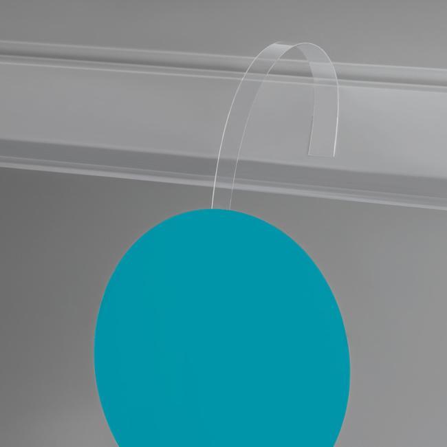 Şeffaf PVC Fiyat Etiketliği
