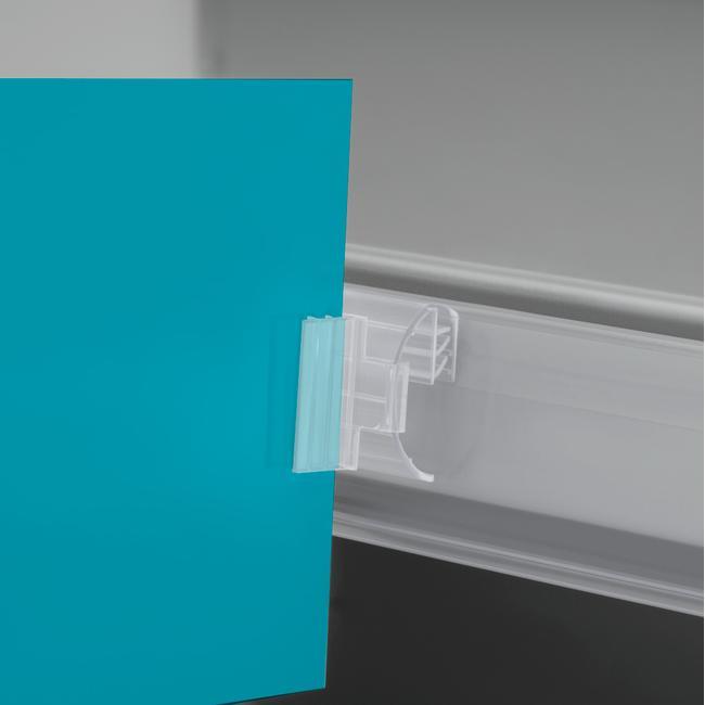 Süper Kıskaç-Etiket Tutucu
