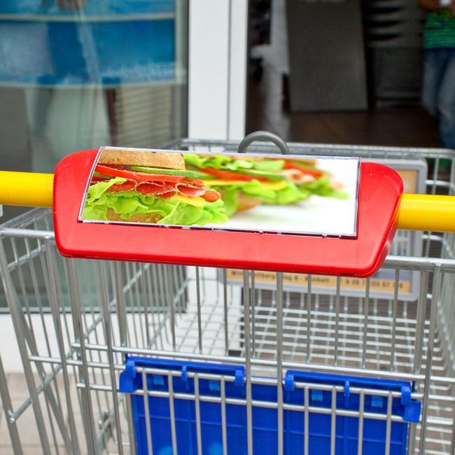 Alışveriş Arabası Afiş Sistemi