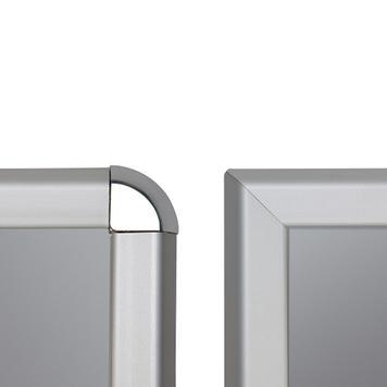 Dış Mekan için Klasik A Pano, 32 mm Profilden, Gönye/Rondo Köşeli
